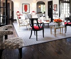 Red Black And Cream Living Room Red Black Cream Living Room Eclectic With Dark Floor Removable