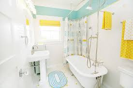 Yellow And White Bathrooms - Home Design