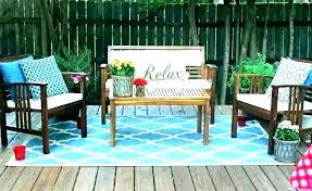 outdoor deck rugs black 9x12 pool target
