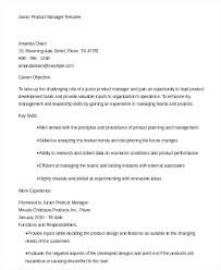 Product Manager Resume Samples Magnificent Associate Product Manager Sample Resume For Property Management