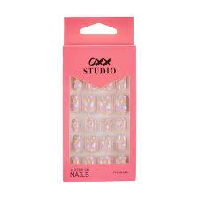 o studio 24 pack stick on nails