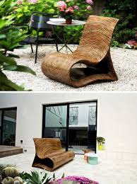 unique outdoor chairs. 12 Outdoor Furniture Designs That Add A Sculptural Element To Your Backyard // An Intricate Unique Chairs