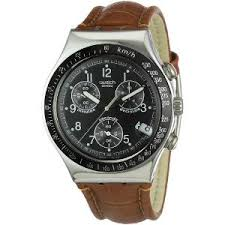 swatch sporty watch for men brown leather strap ycs429 men buy swatch sporty watch for men brown leather strap ycs429