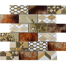 rs3005 ceramic tile mixed glass mosaic