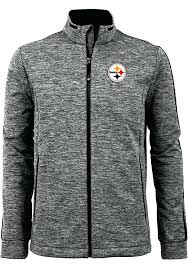 steelers winter coat black golf medium weight jacket steelers winter coat