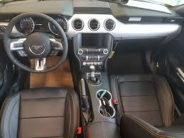 ford mustang convertible interior. yellowtriple yellow tricoat 2017 ford mustang gt premium convertible main interior r