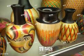 Pottery For Sale At The Art And Craft Market Bogota Colombia