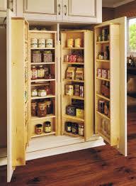 cherry wood kitchen pantry large
