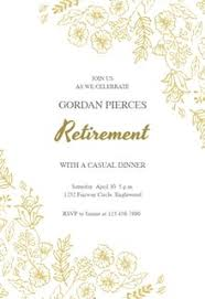 Work Happy Hour Invite Wording Retirement Farewell Party Invitation Templates Free Greetings