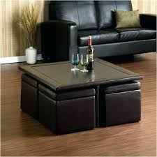 coffee table with ottomans underneath square coffee table ottoman with ottomans underneath within coffee table with