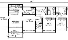 House Plan Underground Floor Plans Laferida Com Design Amazing Earth Contact Home Plans