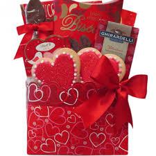 be my valentine gift basket