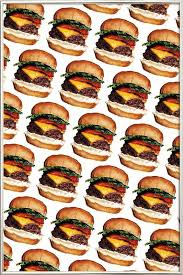 cheeseburger pattern. Unique Cheeseburger In Cheeseburger Pattern A
