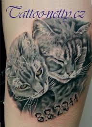 Tetování Koťata Tetování Tattoo
