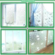 window see out not in day and night immense faux stained glass decorating ideas 12