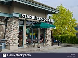 starbucks store exterior. Wonderful Starbucks Exterior Of A Starbucks Coffee Shop Located In Ironwood Plaza Richmond  British Columbia Throughout Store Alamy