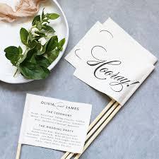 Templates For Wedding Programs Free Wedding Program Templates You Can Customize