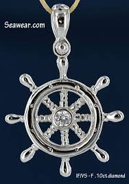 white gold 625 00 special order not stocked dsw109 995 00 14kt diamond ships navigation wheel