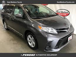 New Toyota Sienna at East Madison Toyota Serving Madison ...