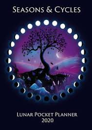 Wiccan Moon Chart Details About Lunar Pocket Planner Moon Calendar 2020 Moon Phases Pagan Wicca Druid Celtic