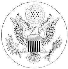 Small Picture Great Seal Of The United States Coloring Page Coloring Home