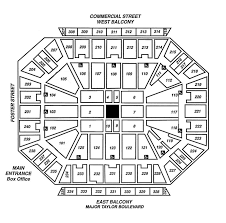 Dcu Center Seating Chart For Concerts Unfolded Dcu Center Virtual Seating Barclay Center Seating
