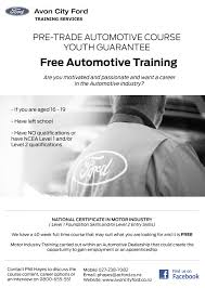 auto training our flyer