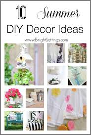 10 Summer DIY Decor Ideas  The Bright Ideas BlogDiy Summer Decorations For Home