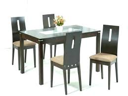 rectangle kitchen table set top dining 4 chairs rectangular glass with wood ideas sets din