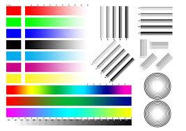 Printer Color Test Pagellllll L