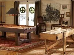 pottery barn pool table rug white wood walls rustic light vintage neutral prints google search what rug under pool table