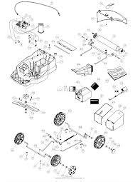 Dr power em6 3 battery powered lawn mower parts diagram for housing rh jackssmallengines craftsman lawn mower wiring diagram lawn tractor wiring diagram