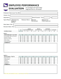 Employee Appraisal Form Staff Evaluation Form Template Employee Forms New