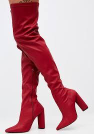 burnin romance over the knee boots