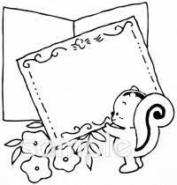 メッセージカード 手紙イラストなら小学校幼稚園向け保育園向けの
