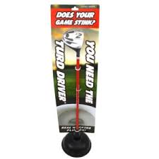 driver golf plunger funny golf gift