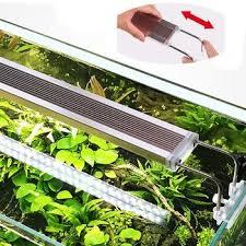 220 V Dünne ADE Serie Dünne LED Licht Aquarium Beleuchtung Pflanzen Licht  Fisch Tanks 12 24 W Aquarium LED Leuchte Für Pflanzen Wachstum