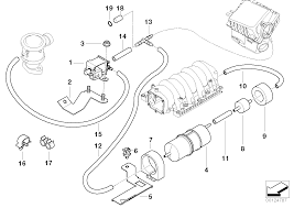 Maybe a clog somewhere or possibly the vacuum solenoid is faulty part number 1 in the diagram below
