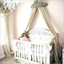 Crown Bed Canopy Wall Mounted Crib Nursery – momotop