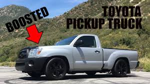 2011 Toyota Tacoma Work Truck- Super Charged - YouTube