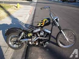 harley chopper bobber old school custom hd evo 4 speed 4400