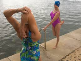 you ve cranked out a mile in the pool and you re ready to head in before you wrap up your workout make sure to get a post swim stretch in