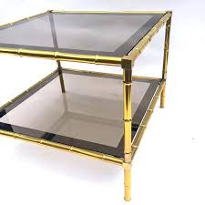 bamboo coffee tables bamboo coffee table brass faux tables for round bamboo and glass coffee