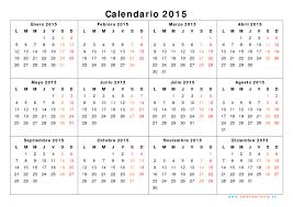 Calendarios Para Imprimir 2015 Calendario 2015 Para Imprimir Gratis