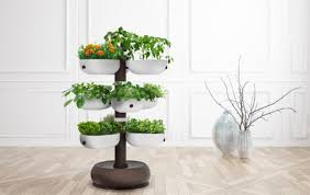 indoor gardening. Smart Taiga Tower Is Like Having An 80 Square Foot Garden Right Inside Your Home Indoor Gardening E