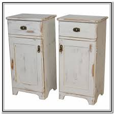 antique white nightstand. Distressed Antique White Nightstand Home Design Ideas