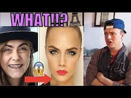 10 shocking photos of supermodels without makeup reaction