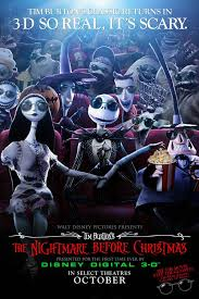 film ick: The 3D Nightmare Before Christmas Poster