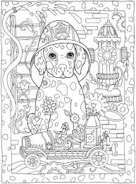 Small Picture Hard Coloring Pages Of Dogs Coloring Coloring Pages