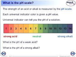 Ph Scale Worksheets Odmartlifestyle Com